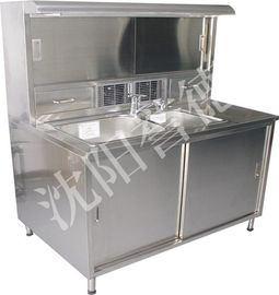 China Laboratory Pathology Workstation Single Water Sinks For Sample Preparation supplier