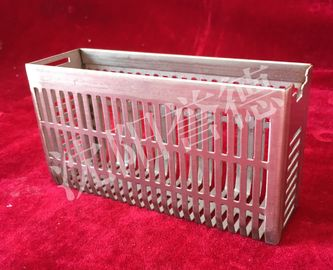 China Anti Rust Tissue Processing Cassettes Basket Removable Dividers , 40 Cassettes supplier