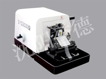 China Clinical Manual Paraffin Microtome With Hand Wheel Brake , Tight Structure distributor