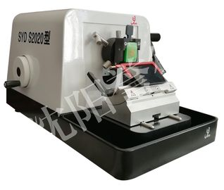 China Tight Structure Manual Rotary Microtome , Pathology Lab Equipment SYD-S2020 factory