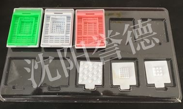 China Lab supply histology medical packaging disposable consumable tissue cassette factory